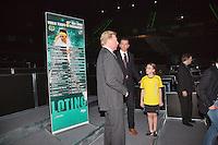 09-02-13, Tennis, Rotterdam, qualification ABNAMROWTT, Draw,l.t.r. tournament director Richard Krajicek, Boris Becker