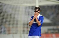 FUSSBALL   1. BUNDESLIGA   SAISON 2011/2012    15. SPIELTAG FC Schalke 04 - FC Augsburg            04.12.2011 Klaas Jan Huntelaar (FC Schalke 04)