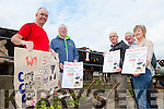 DAISY'S DAY OUT: Locals in Camp are getting ready for the fifth annual Camp Cash Cow fundraiser taking place on August 2nd with a cash prize of €500. Pictured were: Ian Hassell, Thomas Ashe, Gene Finn, John Chambers and Mary Knightly.
