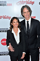 LOS ANGELES, USA. November 09, 2019: Susanna Hoffs & Jay Roach at the American Cinematheque Award Gala honoring Charlize Theron at the Beverly Hilton.<br /> Picture: Paul Smith/Featureflash