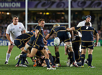 Rugby World Cup Auckland England v Scotland  Pool B 01/10/2011.Mike Blair  (Scotland).Photo  Frey Fotosports International/AMN Images