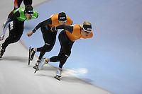 SCHAATSEN: HEERENVEEN: 31-01-2014,  IJsstadion Thialf, Training Topsport, Koen Verweij, ©foto Martin de Jong