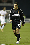 6 November 2004: Alecko Eskandarian. DC United defeated the New England Revolution 4-3 on penalties after the game ended in a 3-3 tie at RFK Stadium in Washington, DC in the Major League Soccer Eastern Conference Championship Match. .