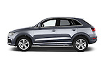 Car driver side profile view of a 2015 Audi Q3 Sport 5 Door SUV
