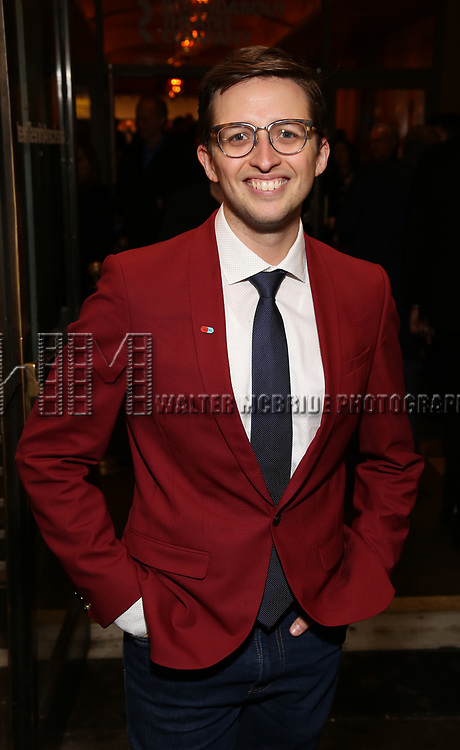 """Will Roland Attends the Broadway Opening Night of """"All My Sons"""" at The American Airlines Theatre on April 22, 2019  in New York City."""