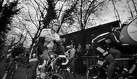 De Ronde van Vlaanderen 2012..Tom Boonen up the Taaienberg