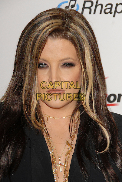 LISA MARIE PRESLEY.attends The Clive Davis Pre-Grammy Party .held at The Beverly Hilton Hotel in Beverly Hills, California, USA,  February 10 2007..portrait headshot .CAP/DVS.©Debbie VanStory/Capital Pictures