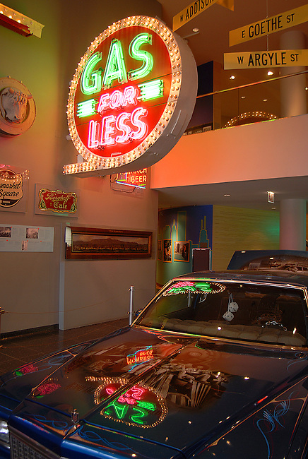 An auto transportation exhibit is one of many at the Chicago History Museum in Lincoln Park