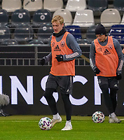 Julian Brandt (Deutschland Germany) - 18.11.2019: Deutschland Abschlusstraining, Commerzbank Arena Frankfurt, EM-Qualifikation DISCLAIMER: DFB regulations prohibit any use of photographs as image sequences and/or quasi-video.