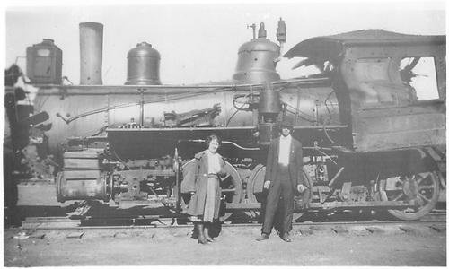 Engine #169 om deadline after a wreck.<br /> D&amp;RGW