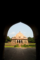 Isa Khan Tomb burial sites, New Delhi, India