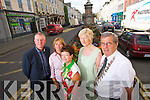 Pictured from left: Kieran Ruttledge (Tralee Chamber Alliance), Cllr. Gillian Wharton Slattery, Joan O'Regan (Tralee Chamber Alliance) , Cllr. Mairead Fernane and Pat Hussey (Mayor of Tralee).