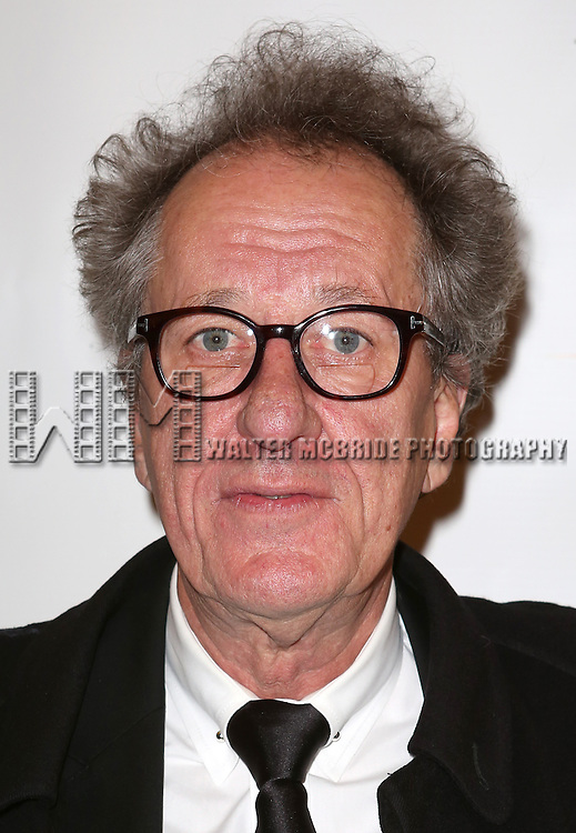 Geoffrey Rush attends the Broadway Opening Night Performance of 'Twelfth Night' at the Belasco Theatre on November 10, 2013 in New York City.