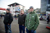 visiting the race in his off-season: German road champion Andr&eacute; Greipel (DEU/Lotto-Belisol)<br /> <br /> Zolder CX UCI World Cup 2014