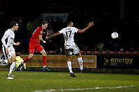 O's David Mooney 2nd half shot during Leyton Orient vs Boreham Wood, Vanarama National League Football at the Matchroom Stadium on 6th January 2018