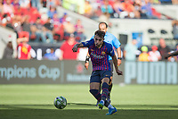 Santa Clara, CALIFORNIA - Saturday August 4, 2018: AC Milan defeated FC Barcelona 1-0 at Levi's Stadium in Santa Clara