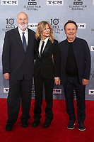 11 April 2019 - Hollywood, California - Rob Reiner, Meg Ryan, Billy Crystal. 2019 10th Annual TCM Classic Film Festival - The 30th Anniversary Screening of &ldquo;When Harry Met Sally&rdquo; Opening Night  held at TCL Chinese Theatre. <br /> CAP/ADM/FS<br /> &copy;FS/ADM/Capital Pictures
