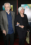 "Louis Zorich and Olympia Dukakis attends the Broadway Opening Night Performance of ""Lady Day at Emerson's Bar & Grill""  at Circle in the Square Theatre on April 13, 2014 in New York City."