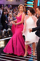 "Dame Darcey Bussell and Shirley Ballas<br /> at the launch of ""Strictly Come Dancing"" 2018, BBC Broadcasting House, London<br /> <br /> ©Ash Knotek  D3426  27/08/2018"