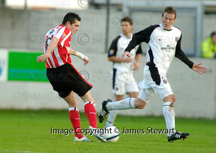 21/10/2006       Copyright Pic: James Stewart.File Name :sct_jspa11_gretna_v_clyde.STEPHEN O'DONNELL  SCORES CLYDE'S SECOND....Payments to :.James Stewart Photo Agency 19 Carronlea Drive, Falkirk. FK2 8DN      Vat Reg No. 607 6932 25.Office     : +44 (0)1324 570906     .Mobile   : +44 (0)7721 416997.Fax         : +44 (0)1324 570906.E-mail  :  jim@jspa.co.uk.If you require further information then contact Jim Stewart on any of the numbers above.........