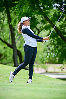 Cheyenne Woods (USA) watches her tee shot on 13 during round 1 of  the Volunteers of America Texas Shootout Presented by JTBC, at the Las Colinas Country Club in Irving, Texas, USA. 4/27/2017.<br /> Picture: Golffile | Ken Murray<br /> <br /> <br /> All photo usage must carry mandatory copyright credit (&copy; Golffile | Ken Murray)