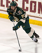 Brady Shaw (UVM - 22) - The Boston College Eagles defeated the University of Vermont Catamounts 7-4 on Saturday, March 11, 2017, at Kelley Rink to sweep their Hockey East quarterfinal series.The Boston College Eagles defeated the University of Vermont Catamounts 7-4 on Saturday, March 11, 2017, at Kelley Rink to sweep their Hockey East quarterfinal series.