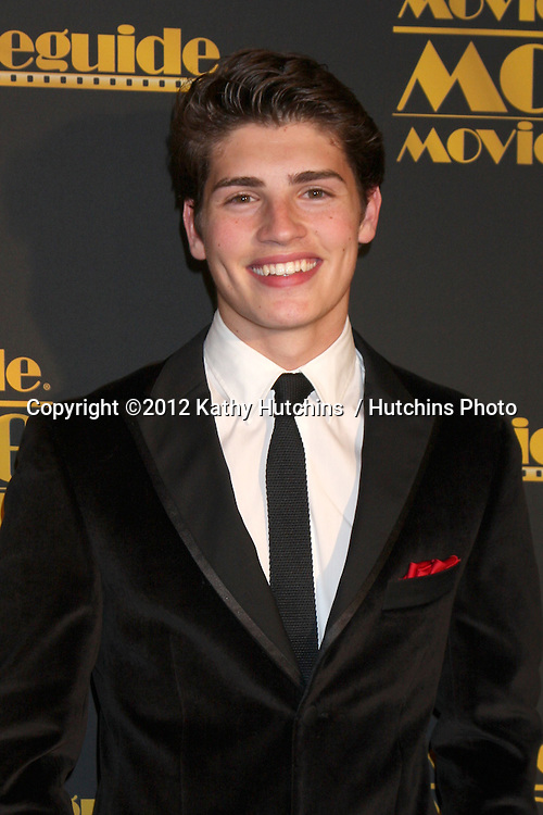 LOS ANGELES - FEB 10:  Gregg Sulkin arrives at the 2012 Movieguide Awards at Universal Hilton Hotel on February 10, 2012 in Universal City, CA