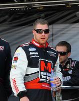 Apr 25, 2009; Talladega, AL, USA; NASCAR Nationwide Series driver Robert Richardson Jr. prior to the Aarons 312 at the Talladega Superspeedway. Mandatory Credit: Mark J. Rebilas-
