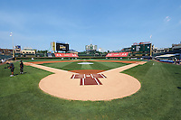 General view of the field before the Under Armour All-American Game on August 15, 2015 at Wrigley Field in Chicago, Illinois. (Mike Janes/Four Seam Images)