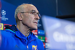 Rostov's Coach Ivan Daniliantz during the press conference before the match of UEFA Champions League between Atletico de Madrid and FC Rostov, at Vicente Calderon Stadium,  Madrid, Spain. October 31, 2016. (ALTERPHOTOS/Rodrigo Jimenez)