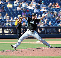 Jacob Lindgren - Chicago White Sox 2020 spring training (Bill Mitchell)