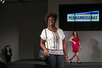 SÃO PAULO, SP, 24.07.2016 - MODA-SP - Desfile da marca Pernambucanas durante o 14 Fashion Weekend Plus Size que acontece neste domingo, 24 no Centro de Convenções Frei Caneca. (Foto: Ciça Neder/Brazil Photo Press)