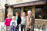 Tarbert Community are to rally in  help with funds for sick child Leah Carmody Pictured are  Grandparents Michael and Nuala Carmody with Uncle, Auntie and Cousin, Ciara Margaret and Pa Carmody