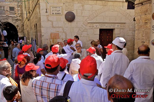 Tourists,  Old City, Jerusalem