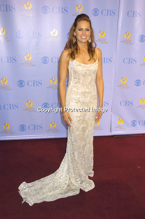 winnner Natalia Livingston ..at The 32nd Annual Daytime Emmy Awards Press Room ..at Radio City Music Hall on May 20, 2005...Photo by Robin Platzer, Twin Images