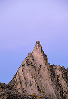 Prusik Peak at dusk, Enchantment Lakes, Alpine Lakes Wilderness, Washingto