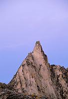 Prusik Peak at dusk, Enchantment Lakes, Alpine Lakes Wilderness, Washingto