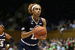 01 February 2016: Notre Dame's Brianna Turner. The Duke University Blue Devils hosted the University of Notre Dame Fighting Irish at Cameron Indoor Stadium in Durham, North Carolina in a 2015-16 NCAA Division I Women's Basketball game. Notre Dame won the game 68-61.
