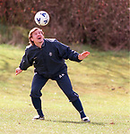 Andrei Kanchelskis at training
