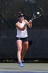 20 April 2016: Notre Dame's Jane Fennelly (IRL). The University of Notre Dame Fighting Irish played the University of Pittsburgh Panthers at the Cary Tennis Center in Cary, North Carolina in the first round of the Atlantic Coast Conference Women's Tennis Tournament. Notre Dame won the match 4-3.