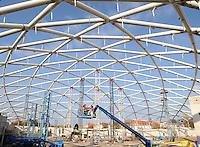 Richtfest Tropenhalle Gondwanaland 30.10.2009 Leipzig