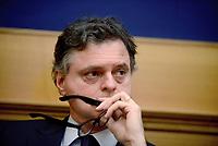Roma, 9 Marzo 2017<br /> Gregorio Fontana<br />  Parlamentari di Forza Italia presentano la proposta sulla Sicurezza .