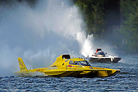 "Jerry Hopp, GP-15 ""Happy Go Lucky"" and Bert Henderson, GP-777 ""Steeler"" (Grand Prix Hydroplane(s)"