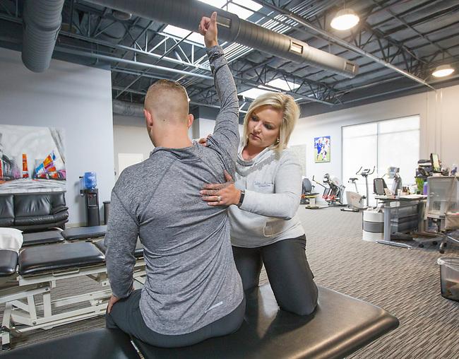 Candelera and Janet and Sparks PT Gym Megan on Tuesday, September 17, 2018.