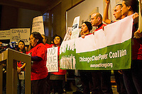 Chicago Clean Power Coalition Press Conference Chicago City Hall 2-15-12