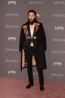 LOS ANGELES, CA - NOVEMBER 04: Jared Leto at the 2017 LACMA Art + Film Gala Honoring Mark Bradford And George Lucas at LACMA on November 4, 2017 in Los Angeles, California. Credit: David Edwards/MediaPunch /NortePhoto.com