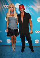 LOS ANGELES, CA - OCTOBER 27:  Gigi Gorgeous, August Getty, at UNICEF Next Generation Masquerade Ball Los Angeles 2017 At Clifton's Republic in Los Angeles, California on October 27, 2017. Credit: Faye Sadou/MediaPunch /NortePhoto.com
