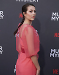 "Emma Fuhrmann 084 arrives at the LA Premiere Of Netflix's ""Murder Mystery"" at Regency Village Theatre on June 10, 2019 in Westwood, California"