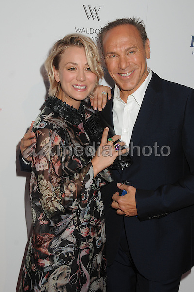21 August 2015 - Beverly Hills, California - Kaley Cuoco, Neil Lane. The Beverly Hilton 60th Anniversary Party held at The Beverly Hilton Hotel. Photo Credit: Byron Purvis/AdMedia
