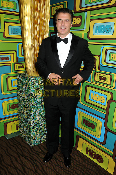 CHRIS NOTH.HBO 2011 Post Golden Globe Awards Party held at The Beverly Hilton Hotel, Beverly Hills, California, USA..January 16th, 2011.full length tuxedo black white   .CAP/ADM/BP.©Byron Purvis/AdMedia/Capital Pictures.
